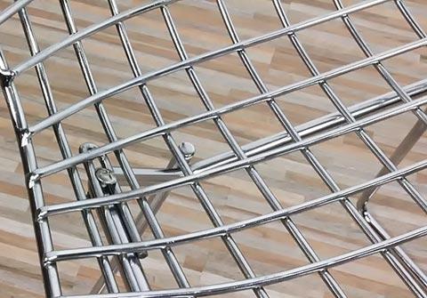 Bertoia Gestell Detail