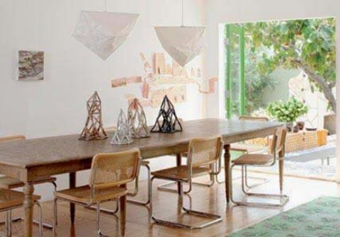 Cesca Chairs im Raum