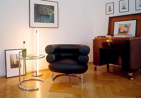 Bibendum Sessel mit Beistelltisch