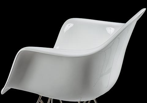 charles eames daw plastic chair design klassiker von steelform. Black Bedroom Furniture Sets. Home Design Ideas