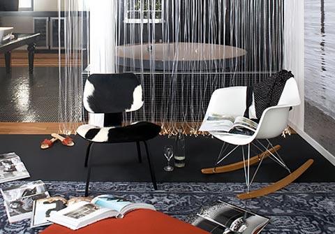Eames RAR Sessel im Raum