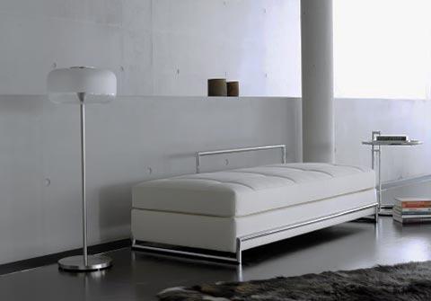 Daybed im Raum