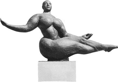 Floating Figure von Lachaise