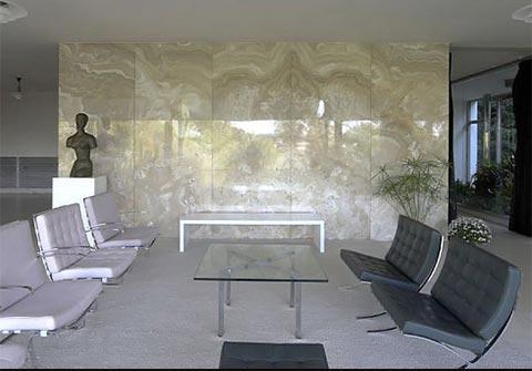 mies van der rohe barcelona tisch design klassiker von steelform. Black Bedroom Furniture Sets. Home Design Ideas