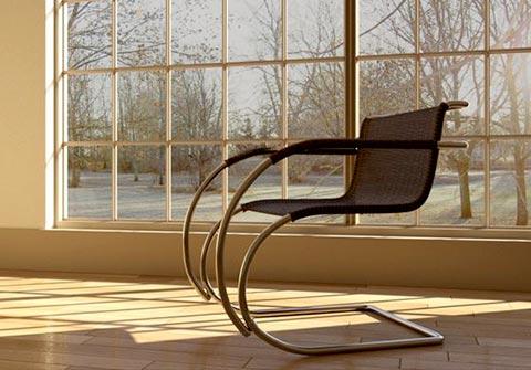 MR 20 Sessel im Raum