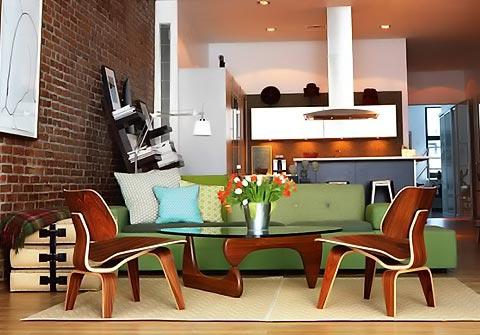Noguchi Coffee Table im Raum