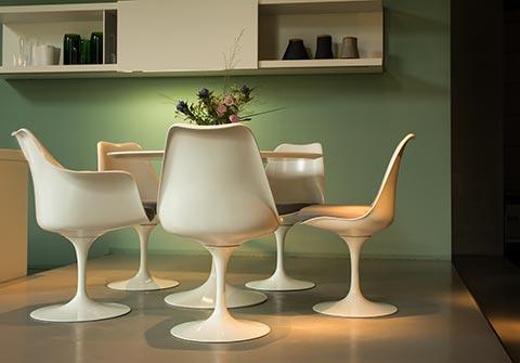 Tulip Chair Gruppe